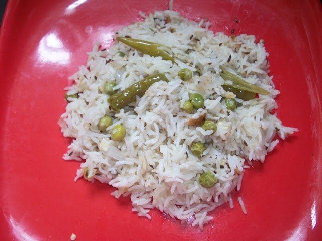 Simple Peas Pulav ( Pilaf ) Made in Rice Cooker – Rice Cooker Recipes