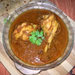 Onion Chicken Curry / Chicken Drumsticks Cooked in a Spicy Onion Gravy