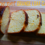 Low Fat Orange Loaf Cake ( No Butter) & A GREAT NEWS TO SHARE