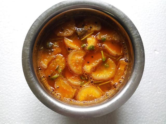 முள்ளங்கி சாம்பார் / Radish Sambar / Radish & Channa Dal Gravy