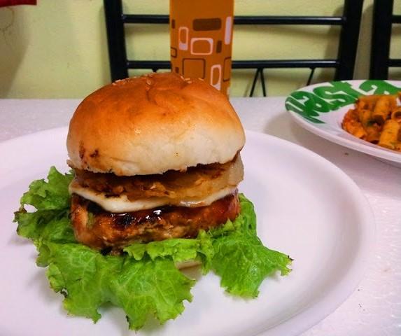 Hawaiian Chicken Burger Recipe