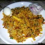 Hyderabadi Mutton Biryani / Mutton Briyani – Muslim Style / Ramzan Briyani