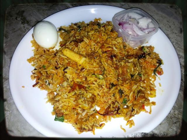 Hyderabadi Mutton Biryani / Mutton Briyani – Muslim Style / Ramzan Briyani