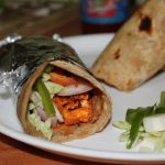 Grilled Paneer Wraps / Cottage Cheese Wraps