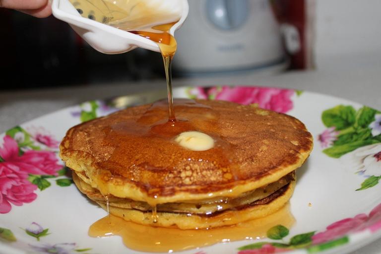 Pumpkin Pancakes – Halloween Special Recipes