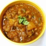 Aloo Chana Curry / Potatoes & Chickpeas Cooked in a Spicy Sauce