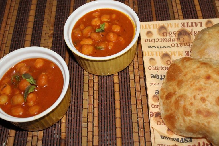 Chana Masala (Chole) / Chickpea Curry – Jain Style