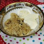 Apple Crumble made from Scratch
