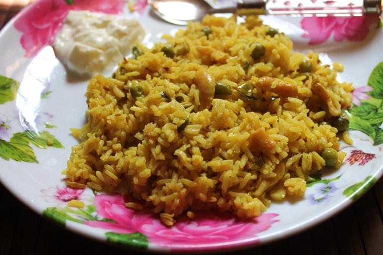 Masala Bhaat / Masale Bhat – Maharashtrian Rice Recipe