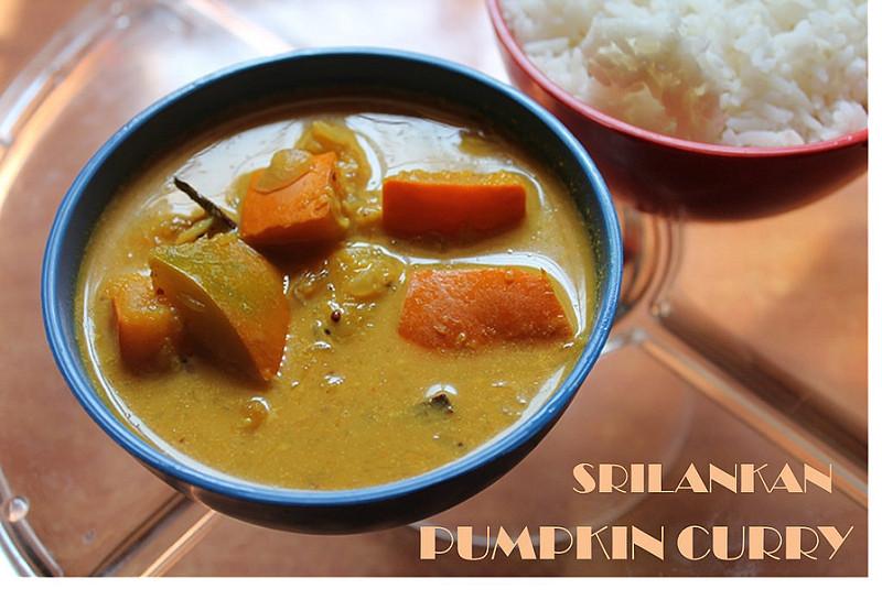 Srilankan Pumpkin Curry