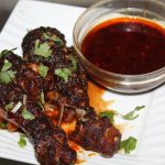 Barbeque Chicken with Indian Twist