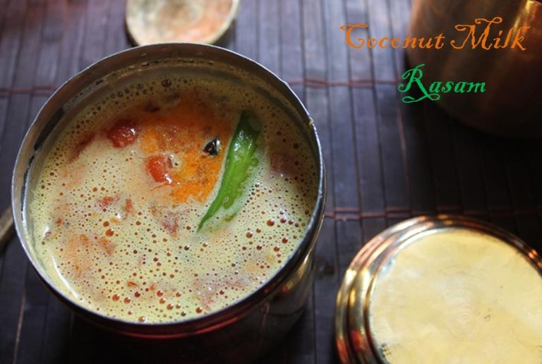 தேங்காய் பால் ரசம் / Coconut Milk Rasam
