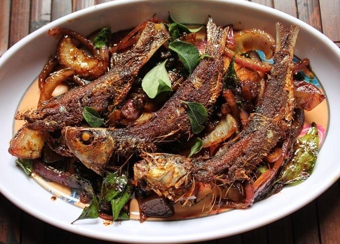 Dried Sardine Fry / Karuvadu Fry / Dry Fish Fry