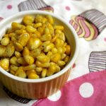 Buttered Sweetcorn / Steamed Sweetcorn Flavoured with Butter, Salt & Pepper