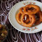 Pudalangai Bajji / Snake Gourd Bajji / Deep Fried Batter Coated Snake Gourd