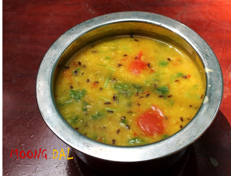 Dal Roti / Simple Moong Dal Recipe / Flavoured Moong Dal For Roti – Side Dish for Roti