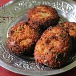 Fish Cutlets / Fish Kabab(Kebab) / Fried Fish Patties / Indian Fish Cakes