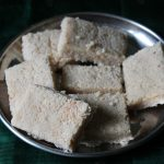 Coconut Burfi Recipe – Coconut Barfi Recipe – Thengai Barfi Recipe