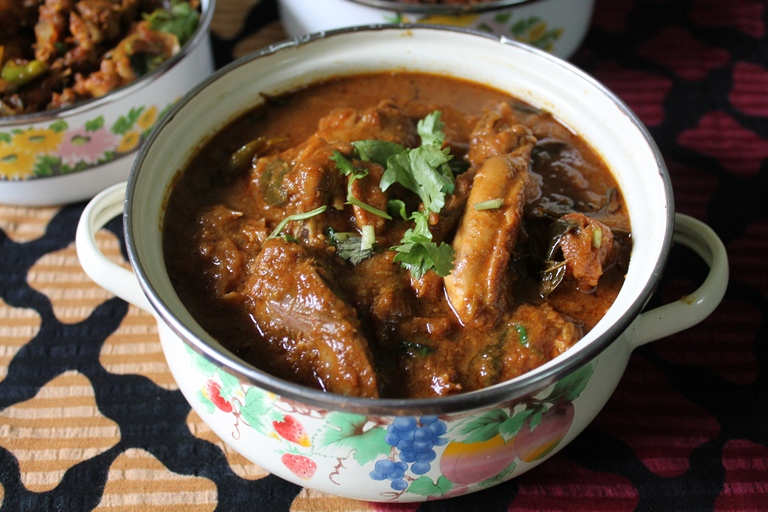 ... Andhra Chicken Curry Recipe – No Coconut Curries Spicy Chicken Curry