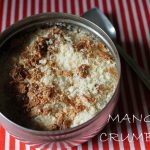 Mango Crumble Recipe – Single Serving