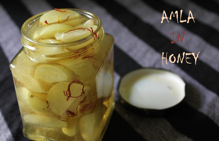 Amla in Honey / How to Preserve Gooseberry(Amla) in Honey
