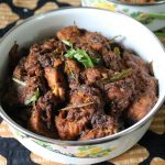 Dry Pepper Chicken – Indian Style