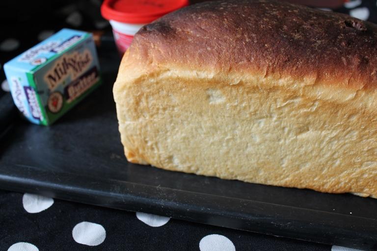 Milk Bread (Eggless) / Honey White Bread / Super Soft Milk & Honey White Bread / Sweet Bread