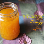 Homemade Pineapple Jam – No Preservatives