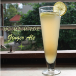 Homemade Fresh Ginger Ale / Ginger Ale / Homemade Ginger Syrup for Ginger Ale