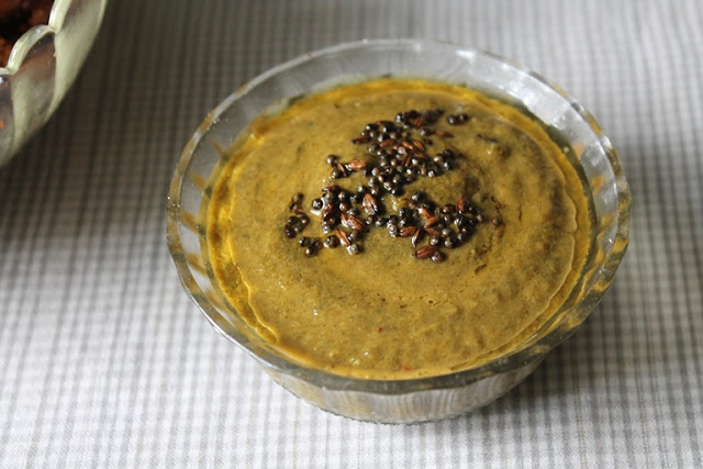 Andhra Keerai Masiyal / Andhra Style Pureed Spinach