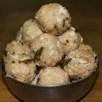 Chambara Kozhukattai / Kara Arisi Kolukattai / Steamed Spiced Up Roasted Rice Balls – Ganesh Chaturthi Recipes