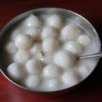 Paal Kozhukattai / Rice Flour Balls Cooked in Sweetened Coconut Milk – Ganesh Chaturthi Special Recipes