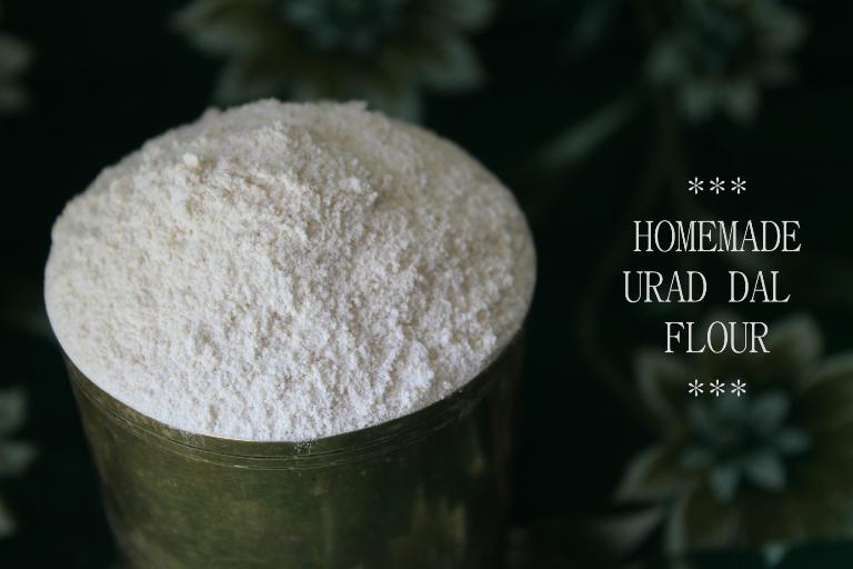 Homemade Urad Dal Flour / How to Make Urad dal Flour at Home