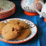 Eggless Honey Walnut Cookies