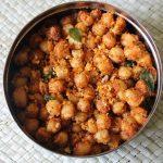Chana Masala Sundal / Chickpea (Kabuli Chana) Masala Sundal / Kondakadalai Sundal – Navaratri Recipes