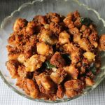 Vazhakkai Podi (Fry) / Raw Banana Dry Curry with Freshly Roasted Spices