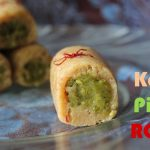 Kaju Pista Roll / Cashew Pistachio Rolls – Diwali Recipes