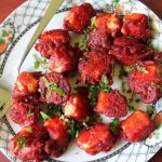 Paneer 65 Recipe / Spiced & Fried Indian Cottage Cheese Cubes