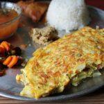 Egg Omelette For Rasam Rice / Masala Omelette / Egg Omelet – Indian Style