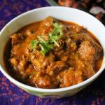 Spicy Mutton Masala / Lamb Masala Cooked with Yogurt & Spices