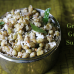Pacha Payaru Sundal / Green Gram Sundal – Navaratri Recipes