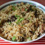 Mutton Pulao (Pulav) / Lamb Pilaf / Mutton Pulao in Pressure Cooker