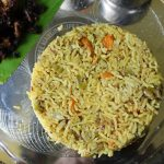 Thengai Paal Veg Biryani / Thengai Paal Biriyani / Coconut Milk Vegetable Biryani