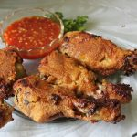 Oven Fried Chilli Chicken / Oven Fried Chicken / Breaded Oven Fried Chicken