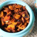 Yam Onion Fry / Chena Kilangu Fry / Yam Roast