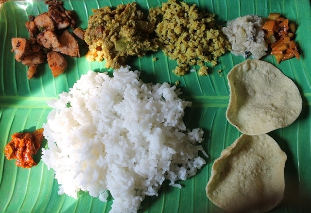 Lunch Menu 6 – Simple South Indian Lunch Menu . South Indian Lunch Thali