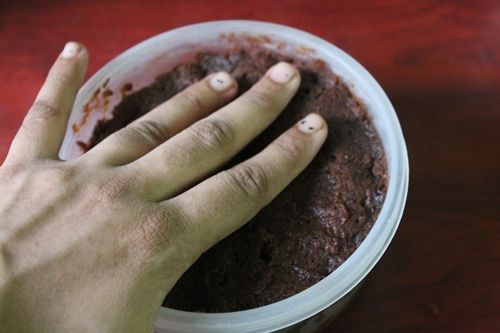 how to make fruit cake in microwave oven