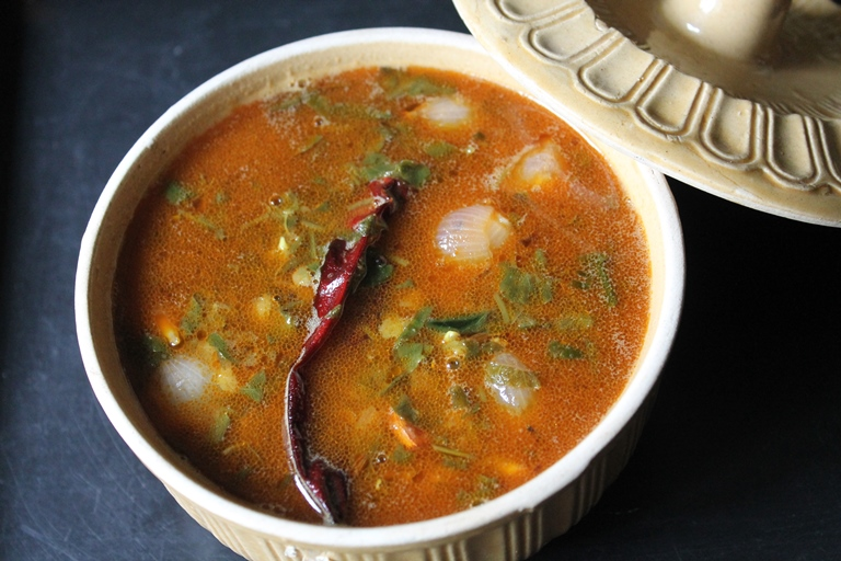 Vallarai Keerai Sambar / Keerai Sambar Recipe / Brahmi Leaves Sambar / Spinach Sambar Recipe