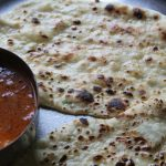 Naan Recipe / Naan Bread / Coriander Naan /  How to make Naan without Tandoor, Oven, Egg & Yeast