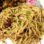 Burnt Garlic Noodles Recipe / Burnt Chilli Garlic Noodles Recipe / Fried Garlic Noodles / Garlic Noodles Recipe